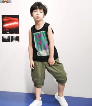 Soonyu夏日酷感装扮 释放男孩的自我个性