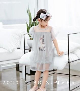 2020 DUBO 夏 六一节纯美连衣裙穿搭