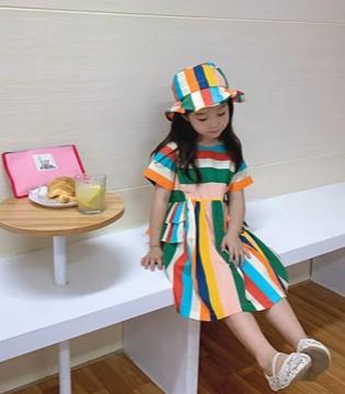 充满甜味的儿童节 看法语的可爱穿搭