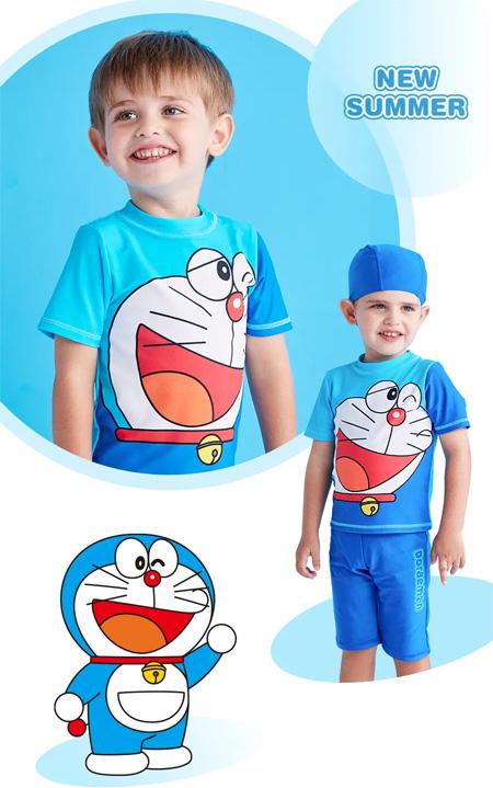 哆啦A梦小课堂 泳衣、防晒霜 宝宝下水装备怎么选?