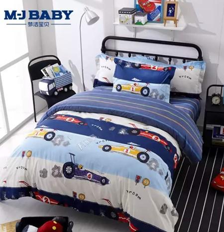 宝宝夏季必备的床上用品 梦洁宝贝童趣上新