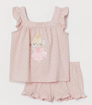 祝你夏日好梦呀  H&M儿童睡衣套装