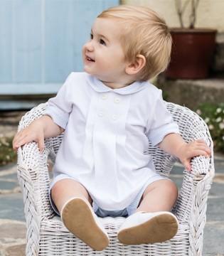 清新色系的BABY装 给宝宝蓝天大海般舒适感受