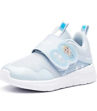 安踏×艾莎公主 两款联名鞋让宝贝天天做公主