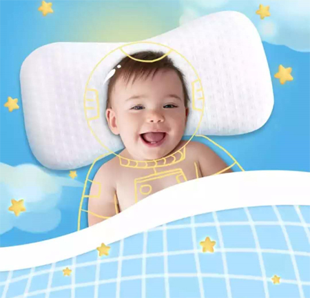 宝宝也需要好的枕头 来看看梦洁宝贝新品吧