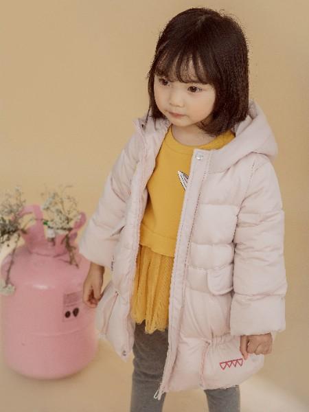琪琪熊童装童装品牌2020冬季羽绒服外套