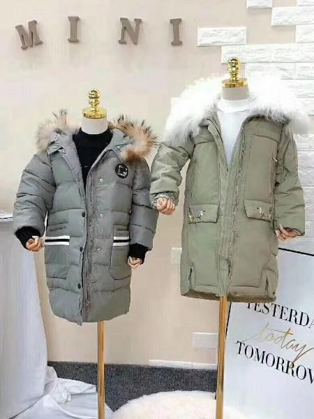 琪琪熊童装品牌折扣2020冬季儿童棉服