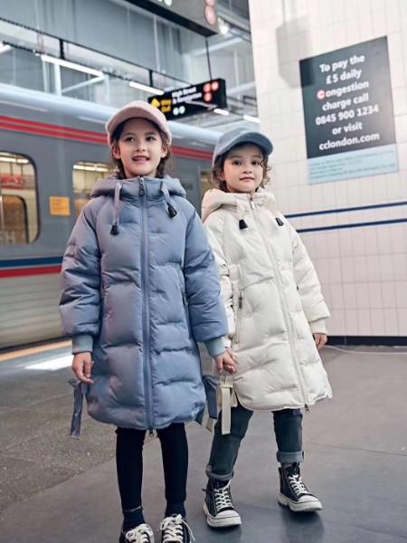 琪琪熊折扣童装品牌2020冬季儿童羽绒服