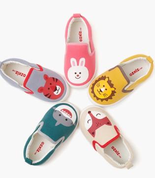 趣味印花小童鞋 一步一个快乐定格