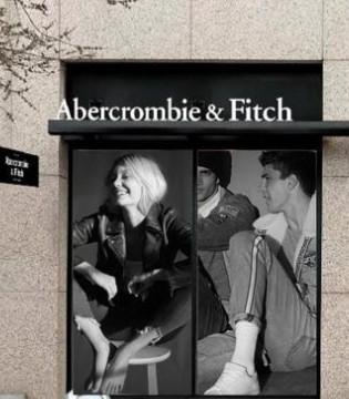 美��休�e品牌Abercrombie & Fitch�上�N售大增