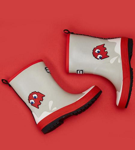 雨季鞋子上新 雨天让孩子更加快乐