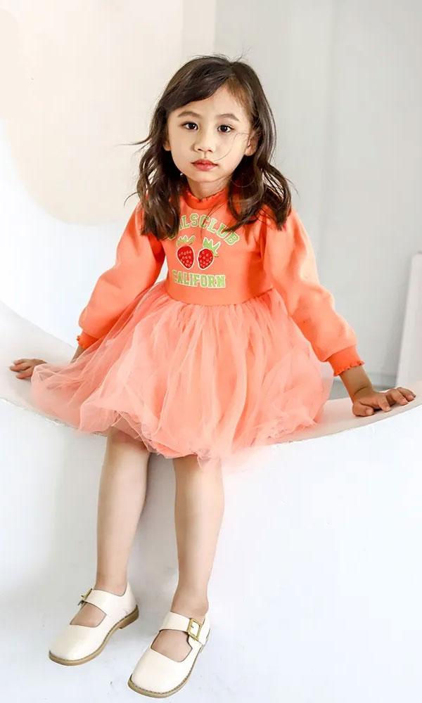 囧小孩:小公主穿搭篇 秋季的时尚感在这里