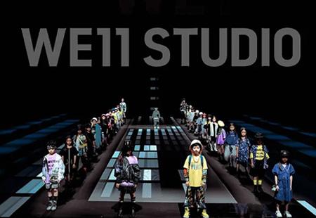 未来的礼物 WE11 STUDIO2021春夏新品发布会全新启程
