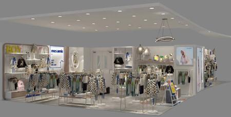 热烈祝贺蒙蒙摩米销售三区又开新店