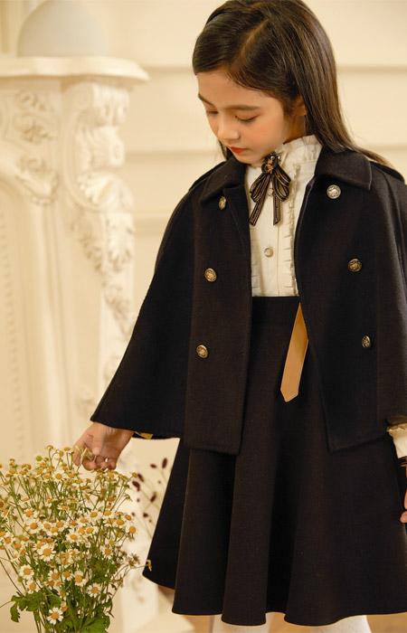 秋冬时装大片 找到属于孩子的那份高级
