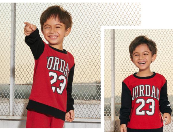 Jordan童装:用运动展露更多面的你