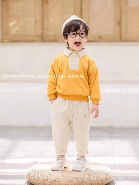 2020新款 冬装网红品牌柚萌品牌童装折童装品牌2020冬季新品