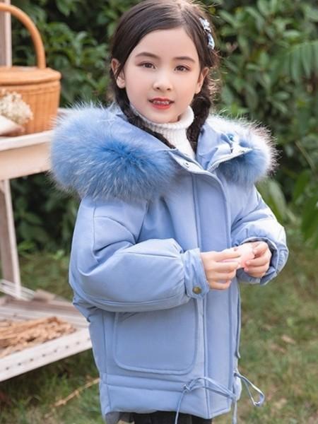 蜡笔小天使羽绒服 品牌童装折扣批发童装品牌2020冬季新品