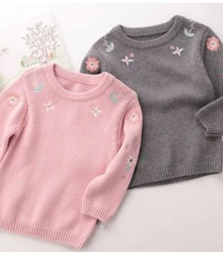 这几件毛衣 承包你家宝宝一整个冬天的温暖!