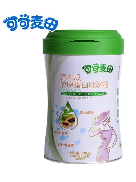 可可麦田木青瓜胶原蛋白肽奶粉