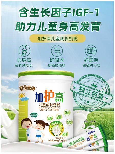 加�o高�和�成�L奶粉400g罐��立包�b