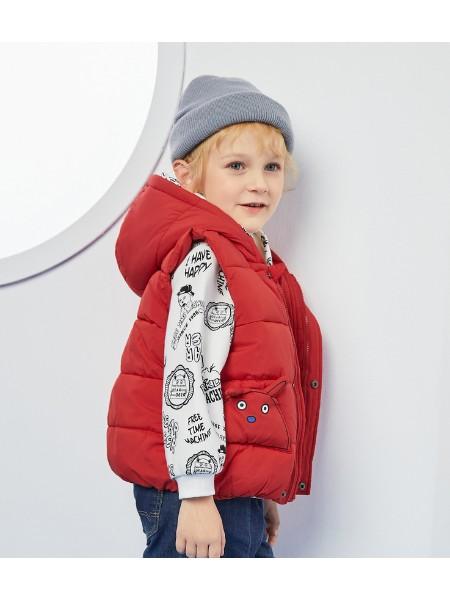 迪迪鹿儿童背心2020秋冬装新品男小童外套宝宝内搭外穿羽绒马甲潮