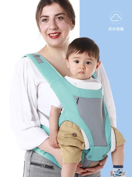 爱婴好孩子贝亲抱抱熊婴儿单肩带腰凳1613