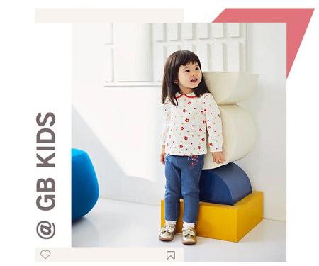 GB KIDS 童最佳�x�裱b新品上市啦!快�砜纯窗桑�
