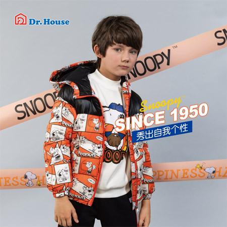 史努比保暖外套 Dr.House/博仕屋给你更多温暖