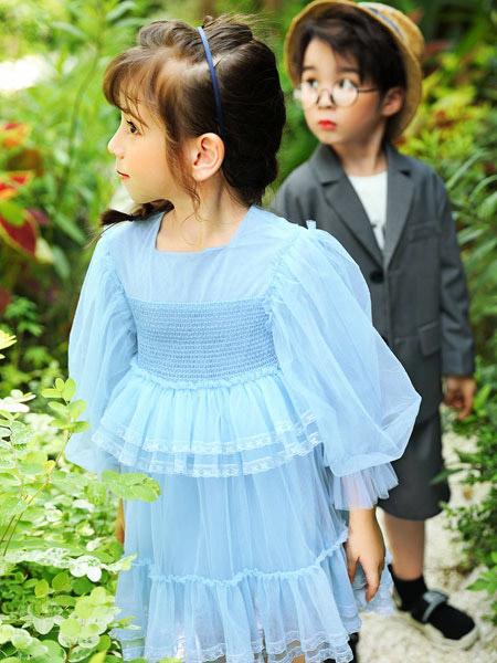 淘气贝贝2021春夏新品 绝美小裙子展现别样魅力
