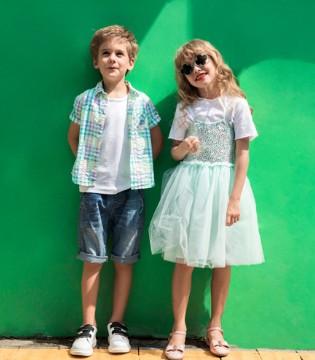 快乐精灵童装 令人眼前一亮的夏季单品