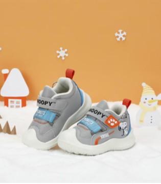 史努比休闲运动童鞋 焕发时尚光彩