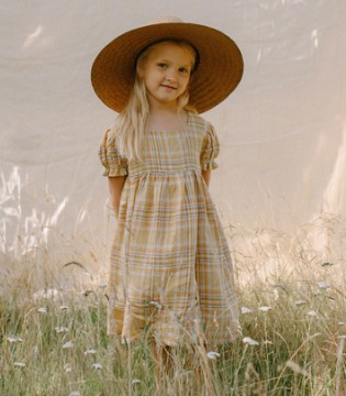 Nellie Quats连衣裙赏析 温暖的午后 有温柔的小裙子
