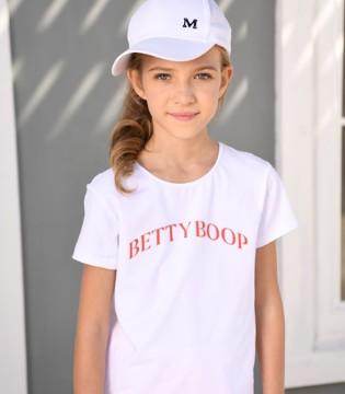 Betty Boop贝蒂娃娃百搭T恤 清爽一夏!