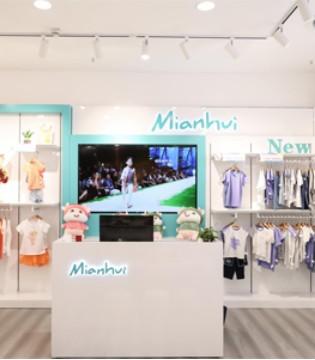 热烈祝贺棉绘新沙天虹店开业两天连续破1.6万