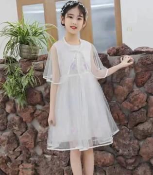 123童装 穿上这些连衣裙 你就是公主本人吧?!