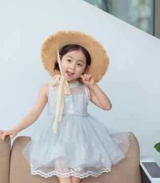 中启服饰夏日网纱裙 打造仙气飘飘小公主
