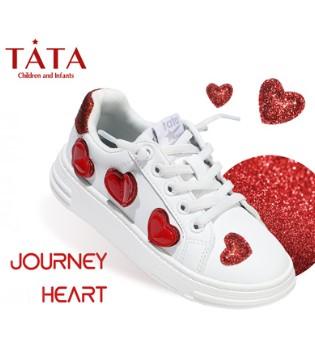 时尚百搭的TATA童鞋 培养孩子正确的走路姿势