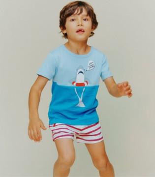 MILK ON THE ROCKS男童T恤 深受小朋友的喜爱