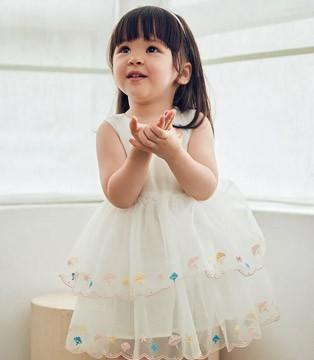 法式连衣裙 属于夏天的仪式感 GBKIDS 今天