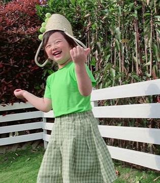 夏日时尚童装 小嗨皮与你一起快乐长大