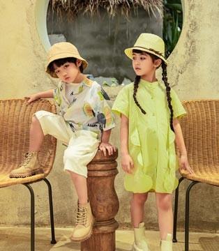 夏日时尚童装 吾名堂给你不一样的穿着