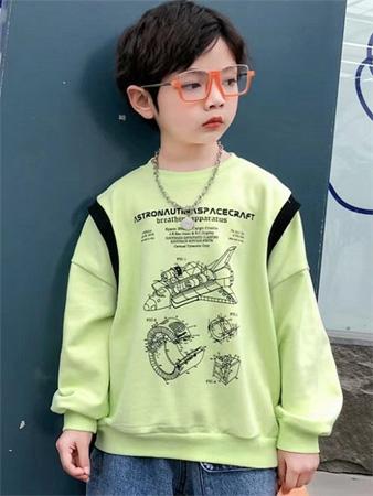 123童装童装秋季新品 陪伴孩子暖暖入秋