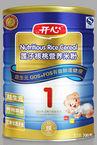 开心配方营养米粉