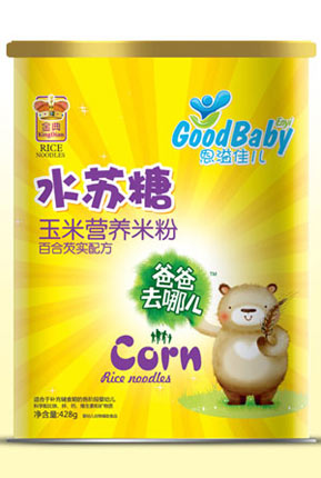 水苏糖米粉纸听-玉米百合芡实