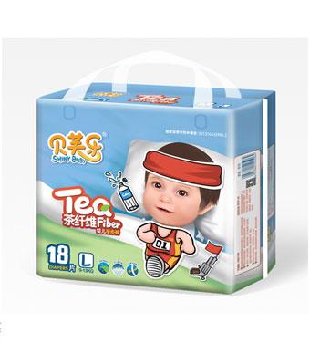 贝芙乐茶纤维婴儿学步裤L码