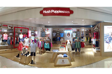 Hush Puppies童装店铺形象