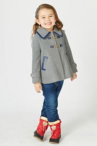 迪乐菲儿DELORAS龙8国际娱乐官网品牌中大童服装套装2014年秋冬新