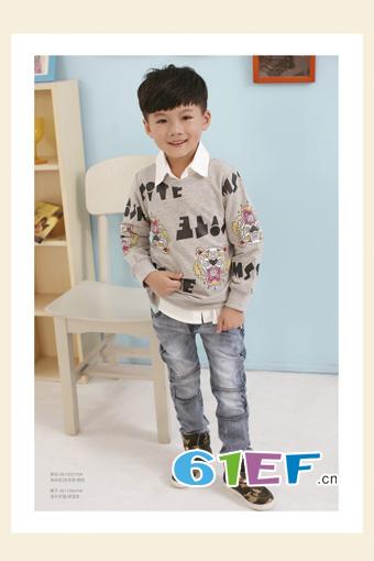 德蒙斯特童装 舒适面料和韩式版型呈现不一样的服装风格
