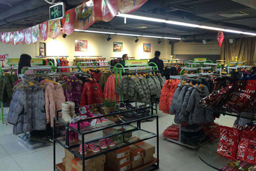 广州市的纯服饰有限公司店铺图